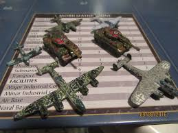 A Sampling Of German Late War Units Bombers And Tigers From Historicalboardgaming
