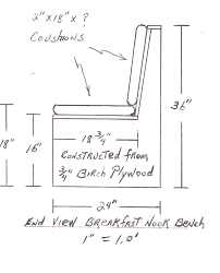 window seat plans an easy build window seat r witherspoon