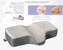 Celliant Sleep Therapeutic Wellness Anti Snore Memory Foam Pillow