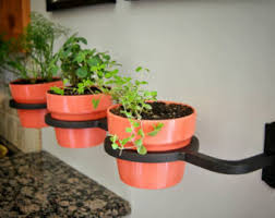Indoor Outdoor Herb Garden Flower Pot Holder Planter