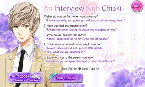 otome otaku our two bedroom story character interview