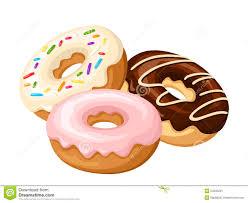 Doughnut clipart glazed donut 3