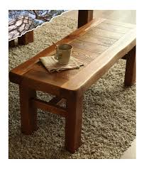 Japanese Antique Wooden Bench Rustic Style Living Room Furniture Stool Seat For Patio Garden Weight Pine Wood In Stools Ottomans From