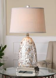 Frederick Cooper Porcelain Table Lamps by Uttermost Capurso Capiz Shell Table Lamp 26505