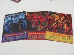 Slifer The Sky Dragon Deck Profile by Yugioh Anime Style Orica Egyptian God Cards Slifer The Sky