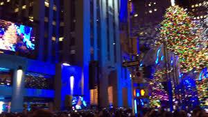 Rockefeller Christmas Tree Lighting 2017 by 2017 Rockefeller Christmas Tree Lighting Live Youtube