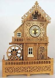 Free Scroll Saw Wooden Gear Clock Plans by 46 Best Scroll Saw Clocks Images On Pinterest Clocks Scroll