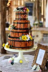 Rustic Wedding Cake 12
