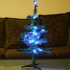 Get Quotations Fantado Small 18 LED Lighted Desktop Christmas Tree With Stand Cool White Battery