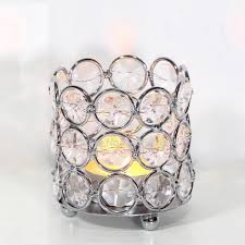 Cheap Wedding Decorations Online by Online Get Cheap Crystal Beaded Votive Candle Holders Aliexpress