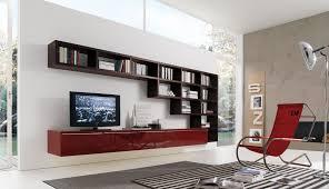 Wall Units Contemporary For Living Room Photos MisuraEmme Futuristic