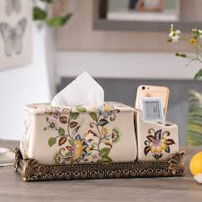 100 Fresh Home And Garden US 7915 50 OFFPromotions Originality Nordic Fresh Home Decorations Ceramic Paper Towel Boxes Luxury Multi Functional Admissionin Tissue