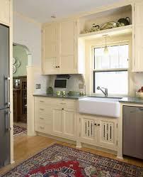 1920s Revival Kitchen Natural Wood Vs The Traditional Sanitary White I
