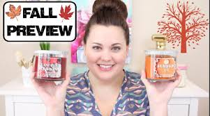 Bath And Body Works Pumpkin Pie by Bath U0026 Body Works Fall Preview Candle Haul July 2015 Youtube