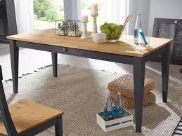 esstisch küchen tisch esszimmer tisch macra 180 x 90 cm pinie nordica grau gewachst