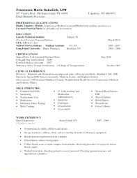 Resume For Nurses Free Sample Also Nurse Registered Resumes Samples And