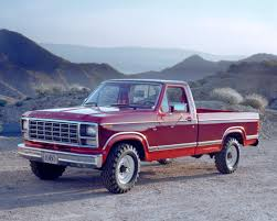 100 Ford Truck 1980 FSerie 7 Generation 1987 Pickup S