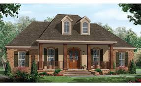 One Story House Plans With Porches Colors Single Story Homes With Porch One Story House Plans With Porch