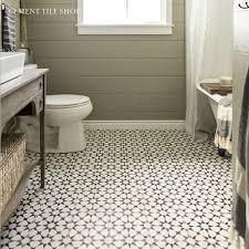 cement tile shop encaustic cement tile agadir white bathrooms