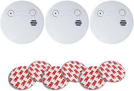3x xeltys rauchmelder toba mit 5 jahres batterie inklusive magnethalterung rauchwarnmelder brandmelder geeignet für wohnzimmer schlafzimmer