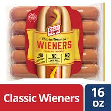 100 Oscar Meyer Weiner Truck Mayer Classic Uncured Wieners 10 Count Walmartcom