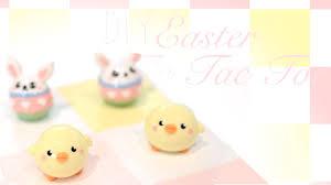 DIY Easter TicTacToe Board Game