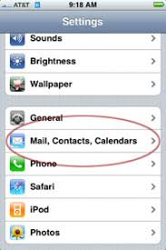 Changing Your E mail Password on the iPhone
