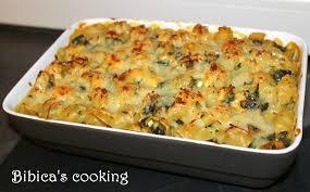 pates au blanc de poulet gratin de pâtes au poulet chignons et chou kale bibica s cooking