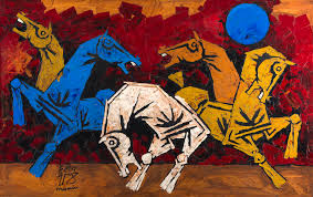 Progressive Artists Group PAG The Who Revolutionised Modern Indian Art