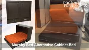 Murphy Bed Alternative Cabinet Bed
