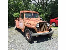 1948 Willys Pickup For Sale | ClassicCars.com | CC-884930 Is The Jeep Pickup Truck Making A Comeback Drivgline For 7500 Its Willys Time Another Fc 1962 Fc170 Exelent Frame Motif Framed Art Ideas Roadofrichescom Stinky Ass Acres Rat Rod Offroaderscom 1002cct01o1950willysjeeppiuptruckcustomfrontbumper Hot 1941 Network Other Peoples Cars Ilium Gazette Thoughts On Building Trailer Out Of Truck Bed 1959 Classic Pick Up For Sale Sale Surplus City Parts Vehicles 1950 Rebuild Jeepforumcom