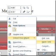 Embed Visio Drawing In Word 2010 Document