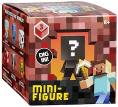 Minecraft Bedding Target by Amazon Com Minecraft Collectible Figure Mystery Blind Box Styles