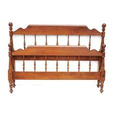 Craigslist Full Size Bed by 24835e Ethan Allen Royal Charter Oak Full Size Canopy Bed Full