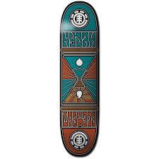 element nyjah hourglass 8 0 skateboard deck evo