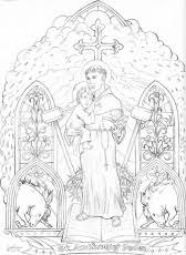 Coloring Page Elizabeth And Zechariah Pics