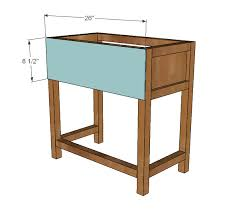 Wooden Bedside Table Plans Woodworking Bench Leg Vise Diy Ideas
