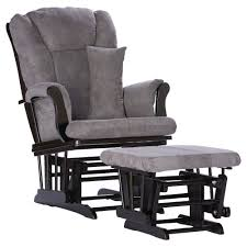 Stork Craft Rocking Chair New Tuscany Black Glider And Ottoman Gray ...