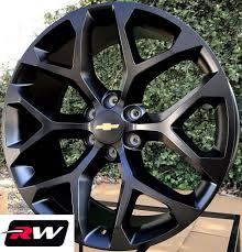 20 Inch Chevy Silverado 1500 Snowflake Oe Replica Wheels 20×9