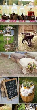 Country Wedding Ideas For Cakes Decorations Menu Signs Seating With Hay Bales And More I Love