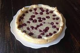 sauerkirschen quark pudding kuchen