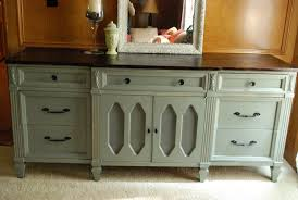 Furniture Fascinating Light Green Painted Distressed Wood