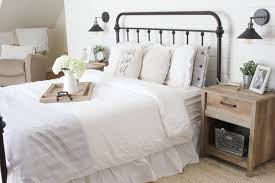 Raymour And Flanigan Bed Frames by Home Farmhouse Master Bedroom Lauren Mcbride