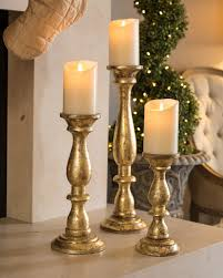 Golden Wood Pillar Candle Holders | Balsam Hill | Candle Light ... 122 Best Candle Holder Images On Pinterest Holders Chandeliers Pottery Barn Adele Chandelier Small Petaluma Candlesticks 1816154608 Dont Disturb This Groove The Look For Less Lindsey Edits Copycat Holders My First Flea Moody Girl Projects 43 183 Unique Floor Lamps Chelsea Lamp Base Large Image For 25 Unique Ideas Tall Candle