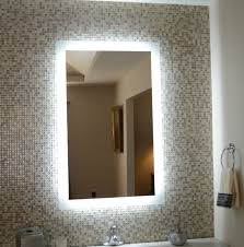 lighted bathroom vanity mirrors heated throughout led bathrooms
