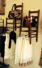 Repurpose Upcycle Idea For Retail Display Offers Both Rod Hangers And Seat Acts As A Shelf