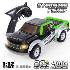 GPTOYS Remote Control Car 1:12 2.4GHz 4WD Off Road Monster Truck ...