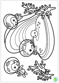 Coloring Pages To Print Octonauts