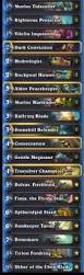 Paladin Deck Lich King by Knights Of The Frozen Throne Decks Archives Hs Decks And Guides