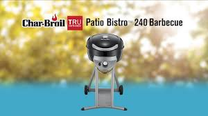 Patio Bistro Gas Grill Manual by Char Broil Tru Infrared Patio Bistro 240 Portable Gas Barbecue